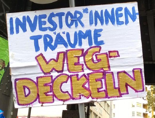 Investorenträume wegdecken